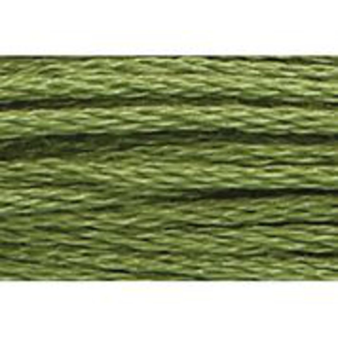 Stranded Cotton Cross Stitch Threads - Green Shades image 37