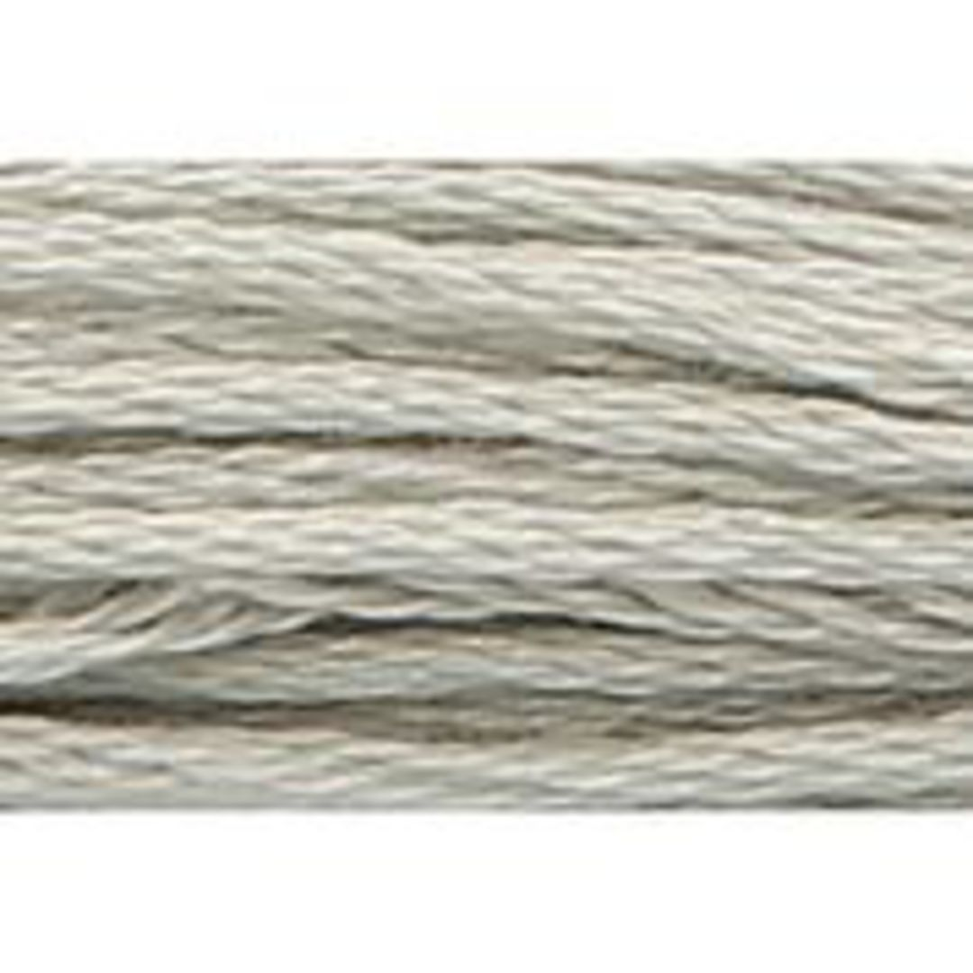 Stranded Cotton Cross Stitch Threads - Greys Shades image 3