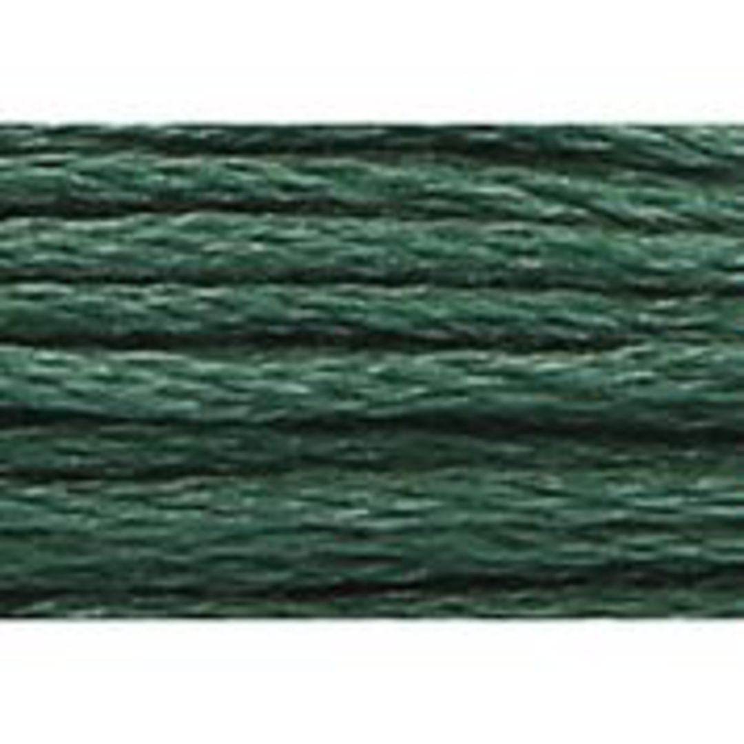 Stranded Cotton Cross Stitch Threads - Green Shades image 15