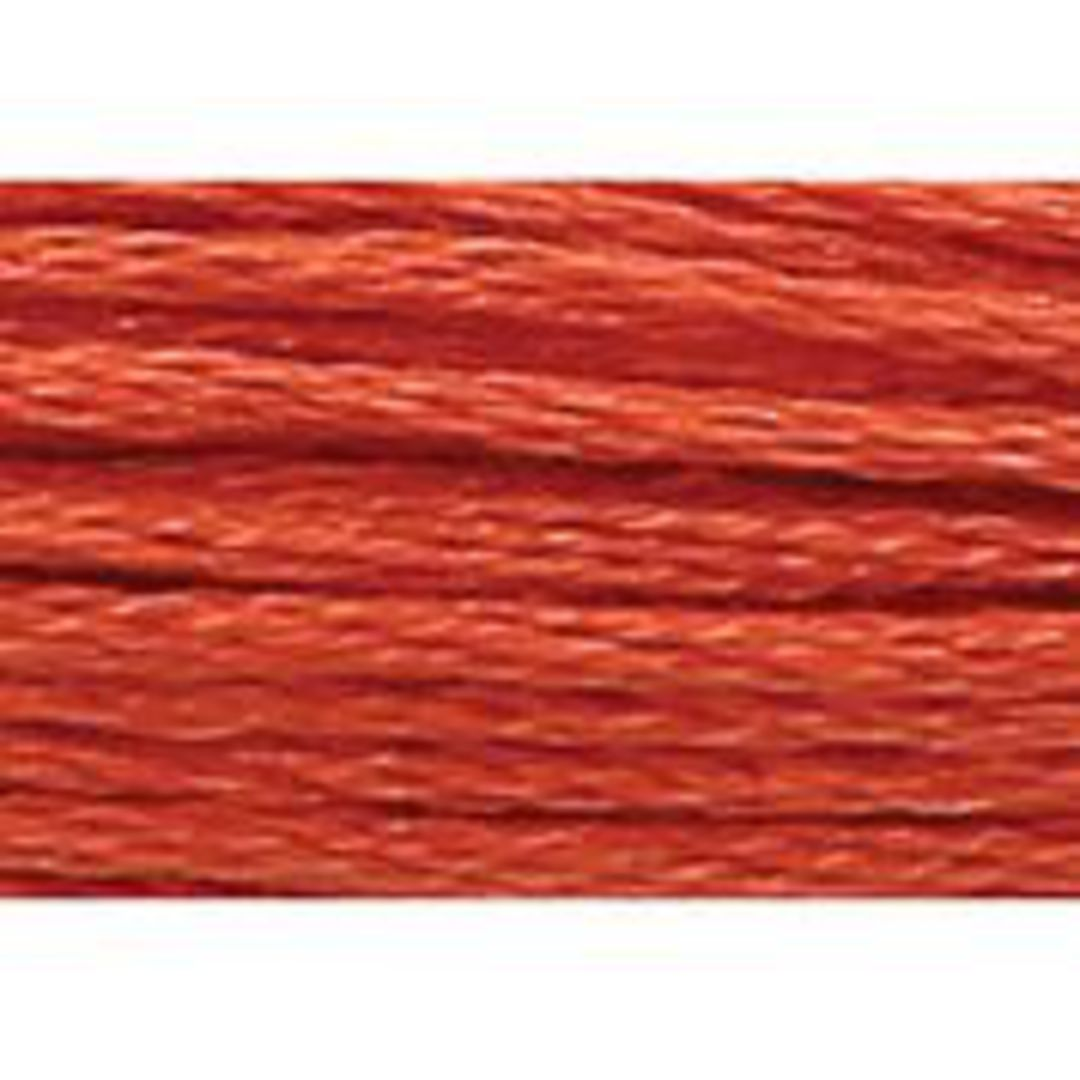 Stranded Cotton Cross Stitch Threads - Orange Shades image 38