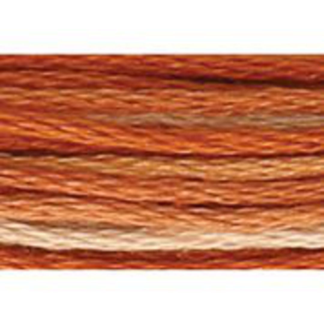Stranded Cotton Cross Stitch Threads - Orange Shades image 5
