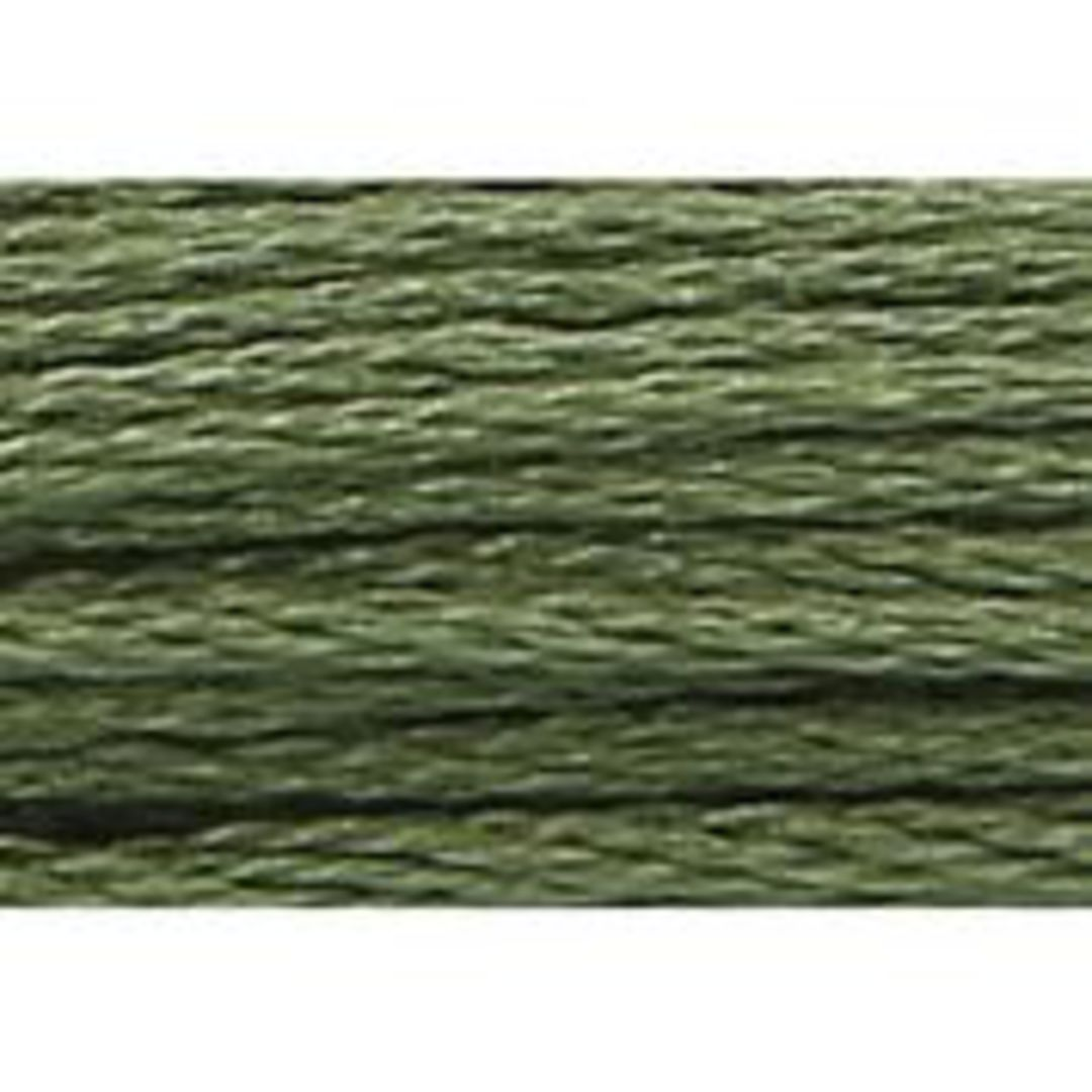 Stranded Cotton Cross Stitch Threads - Green Shades image 42