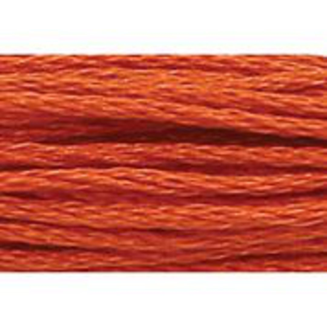Stranded Cotton Cross Stitch Threads - Orange Shades image 16