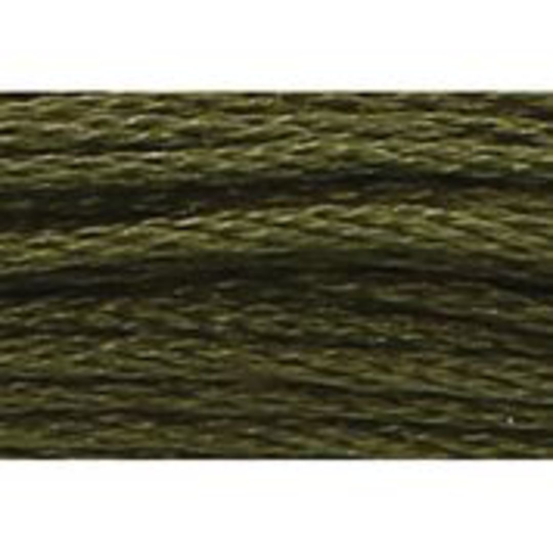 Stranded Cotton Cross Stitch Threads - Green Shades image 26