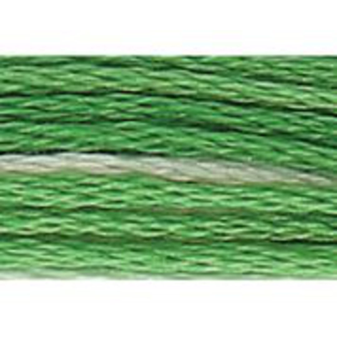 Stranded Cotton Cross Stitch Threads - Green Shades image 3