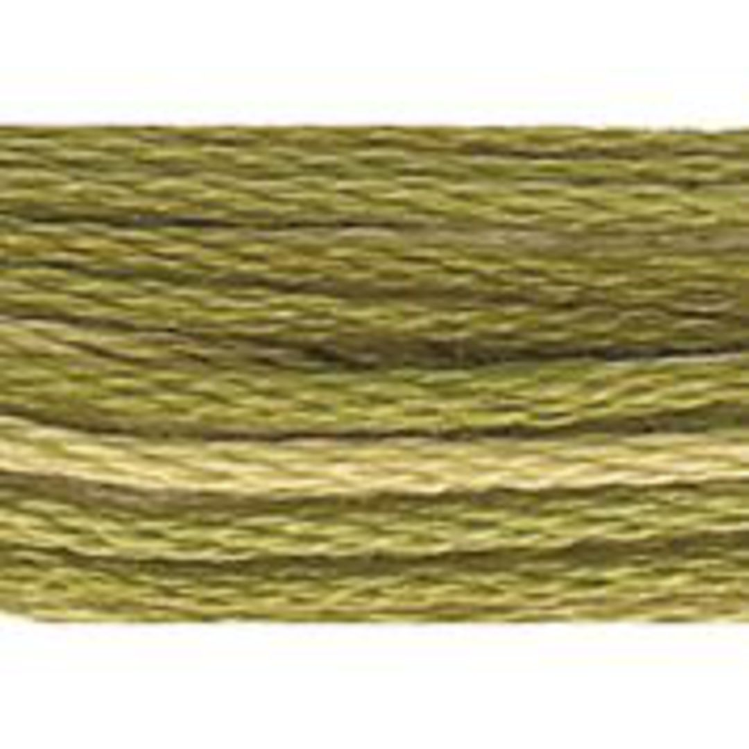 Stranded Cotton Cross Stitch Threads - Green Shades image 2