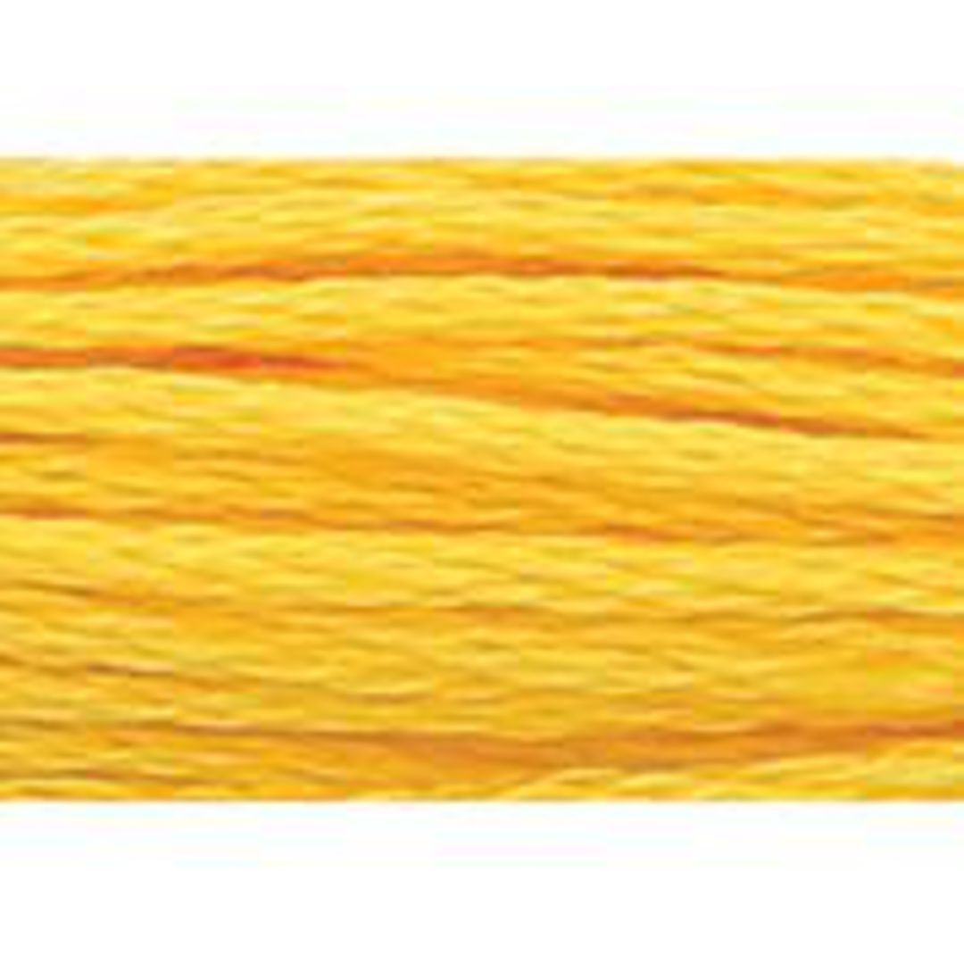 Stranded Cotton Cross Stitch Threads - Yellow Shades image 30