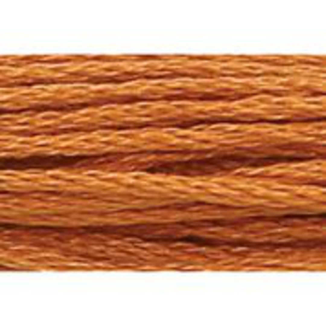 Stranded Cotton Cross Stitch Threads - Orange Shades image 9