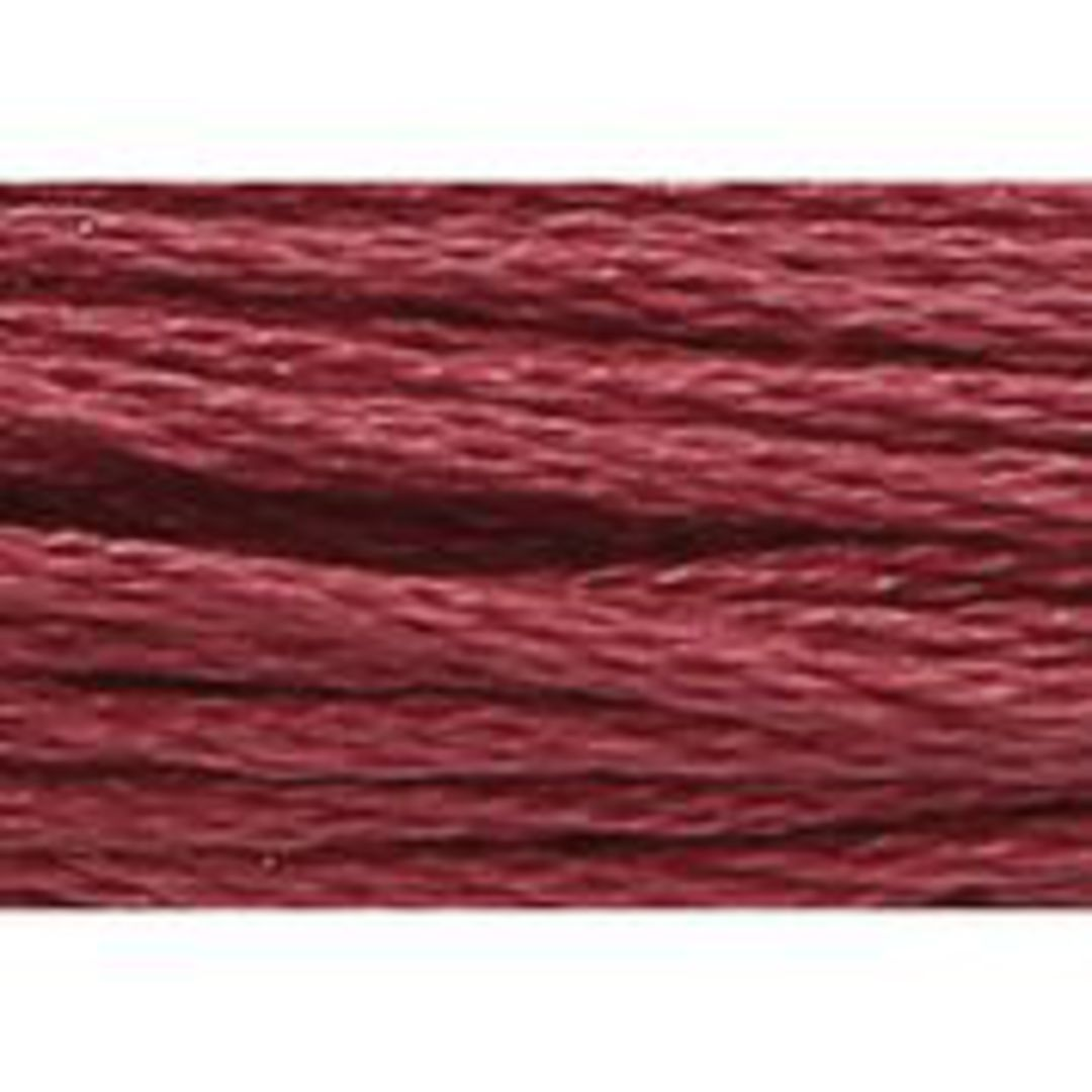 Stranded Cotton Cross Stitch Thread - Red Shades image 7