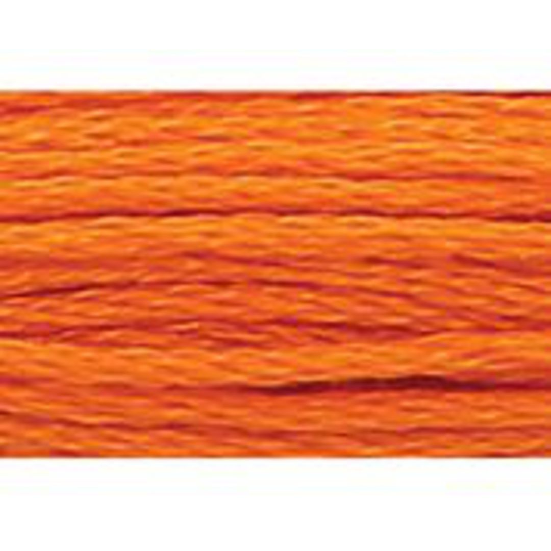 Stranded Cotton Cross Stitch Threads - Orange Shades image 47