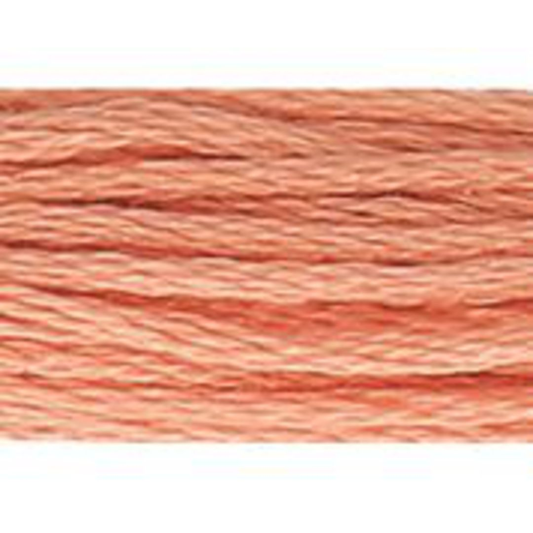 Stranded Cotton Cross Stitch Threads - Orange Shades image 1