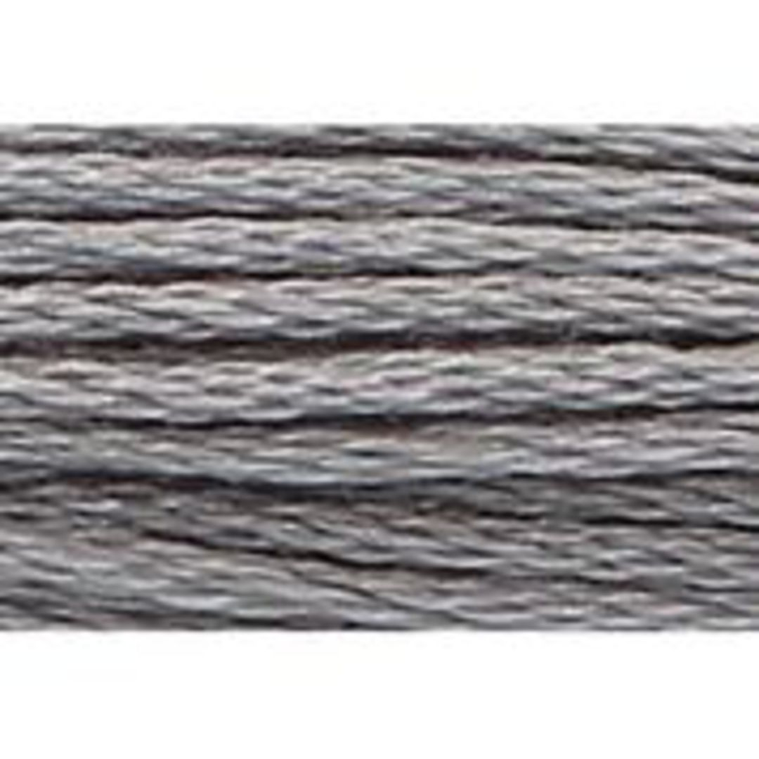 Stranded Cotton Cross Stitch Threads - Greys Shades image 10