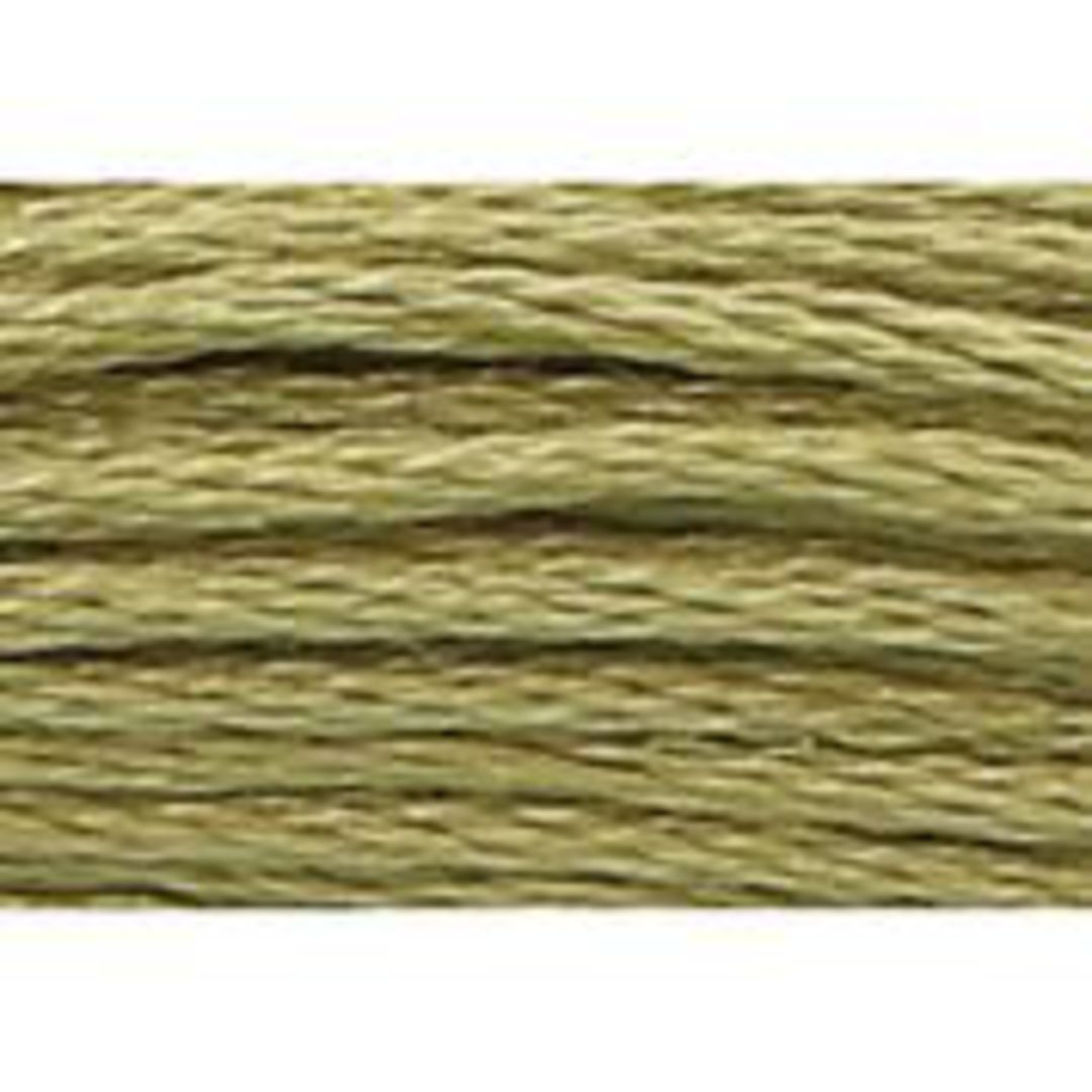 Stranded Cotton Cross Stitch Threads - Green Shades image 29