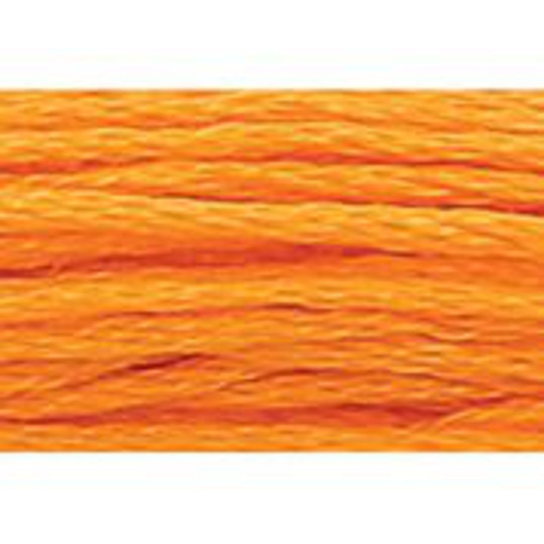 Stranded Cotton Cross Stitch Threads - Orange Shades image 48