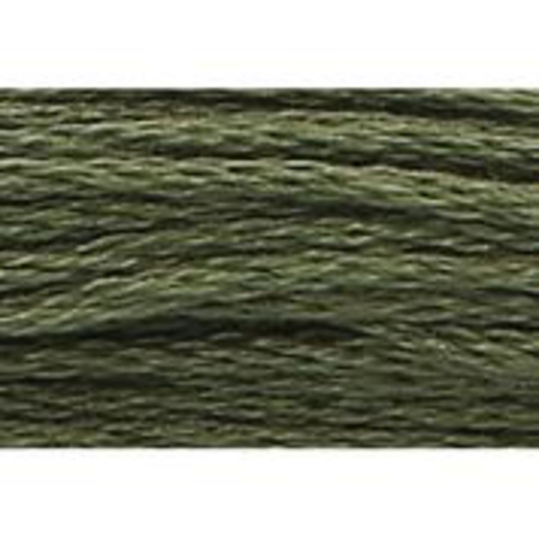 Stranded Cotton Cross Stitch Threads - Green Shades image 32