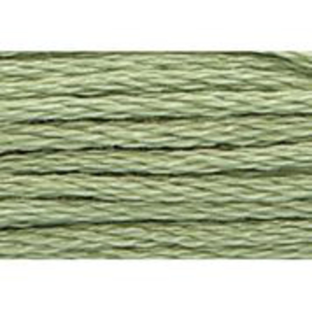Stranded Cotton Cross Stitch Threads - Green Shades image 43