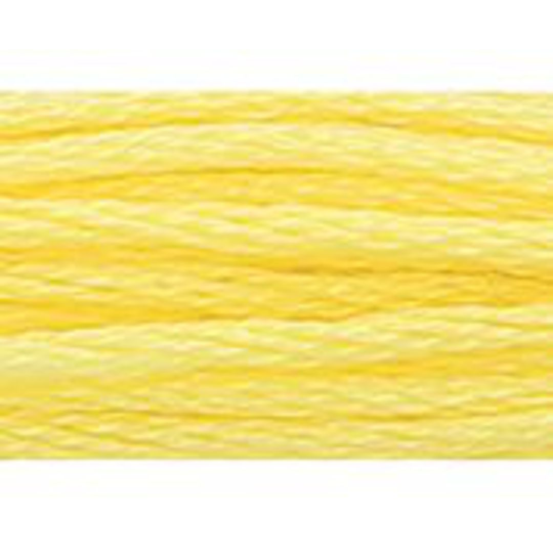 Stranded Cotton Cross Stitch Threads - Yellow Shades image 37