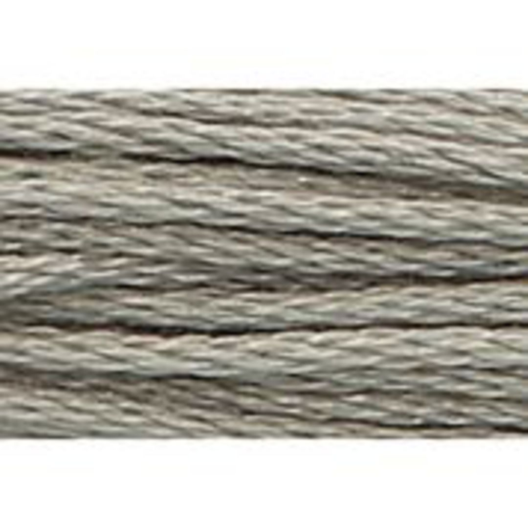 Stranded Cotton Cross Stitch Threads - Greys Shades image 2