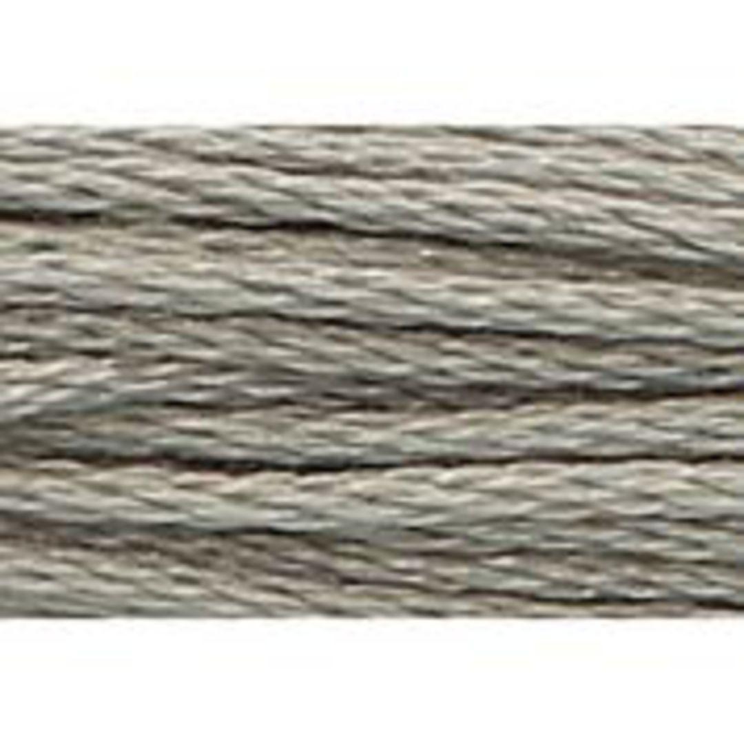 Stranded Cotton Cross Stitch Threads - Greys Shades image 2