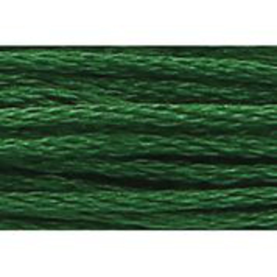 Stranded Cotton Cross Stitch Threads - Green Shades image 51