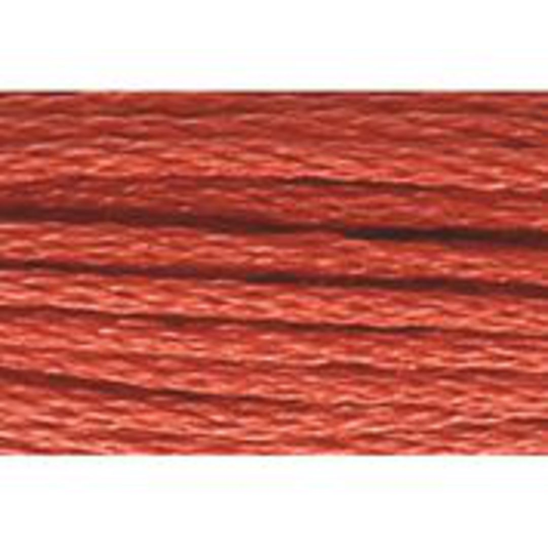 Stranded Cotton Cross Stitch Threads - Orange Shades image 2