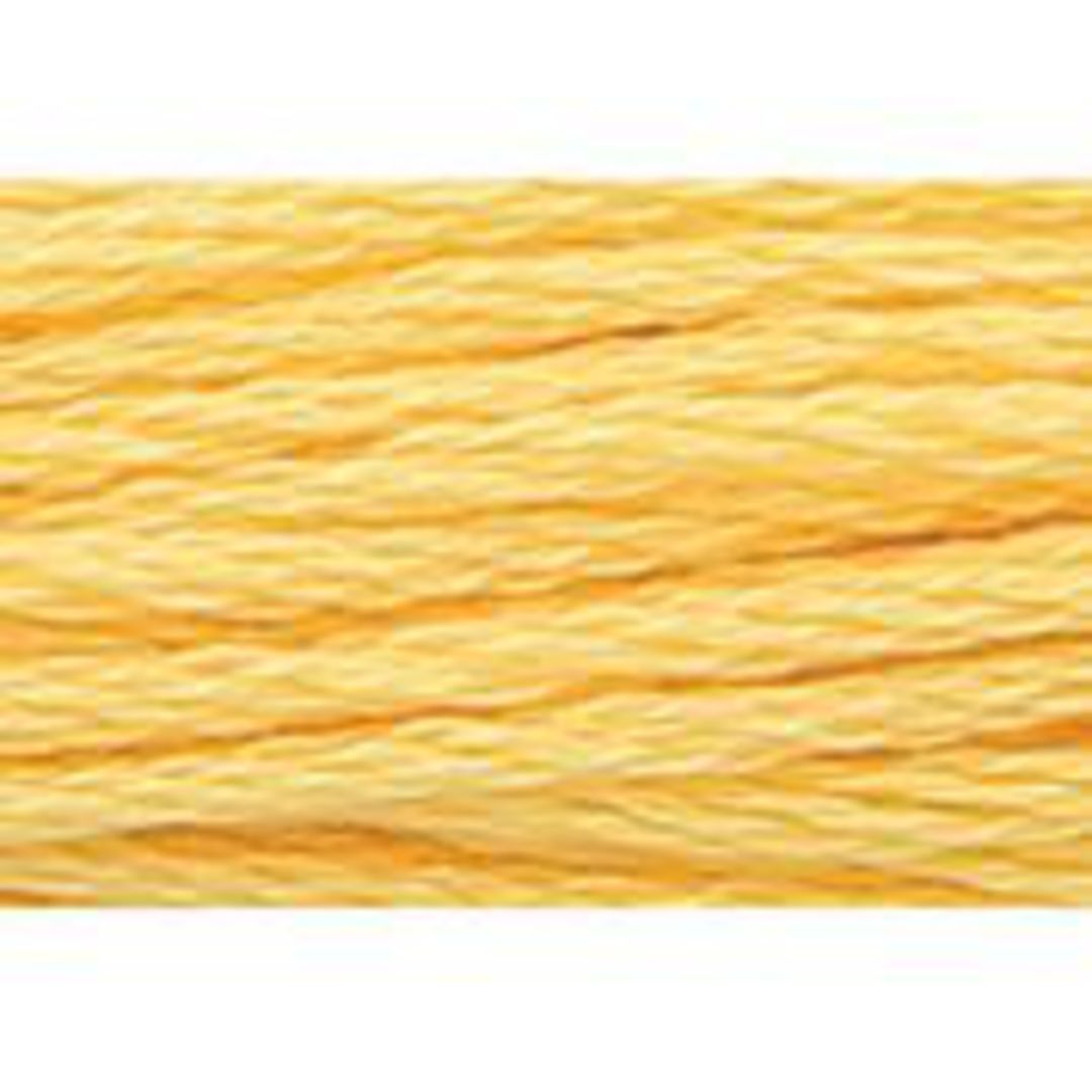 Stranded Cotton Cross Stitch Threads - Yellow Shades image 24