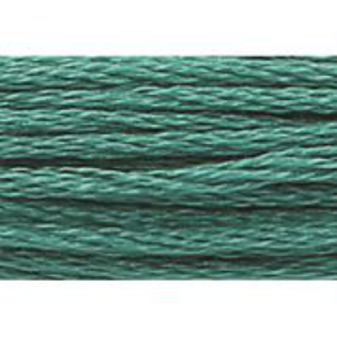 Stranded Cotton Cross Stitch Threads - Green Shades image 5
