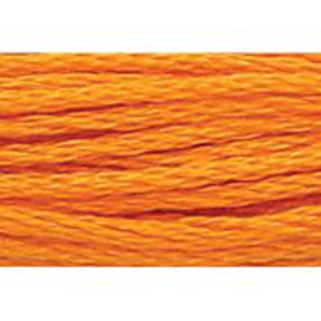 Stranded Cotton Cross Stitch Threads - Orange Shades image 55