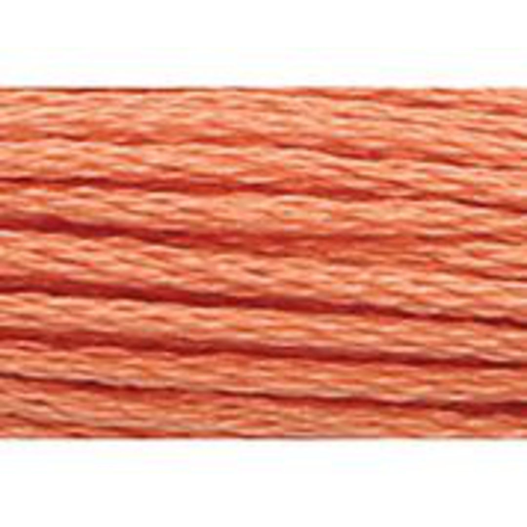 Stranded Cotton Cross Stitch Threads - Orange Shades image 40