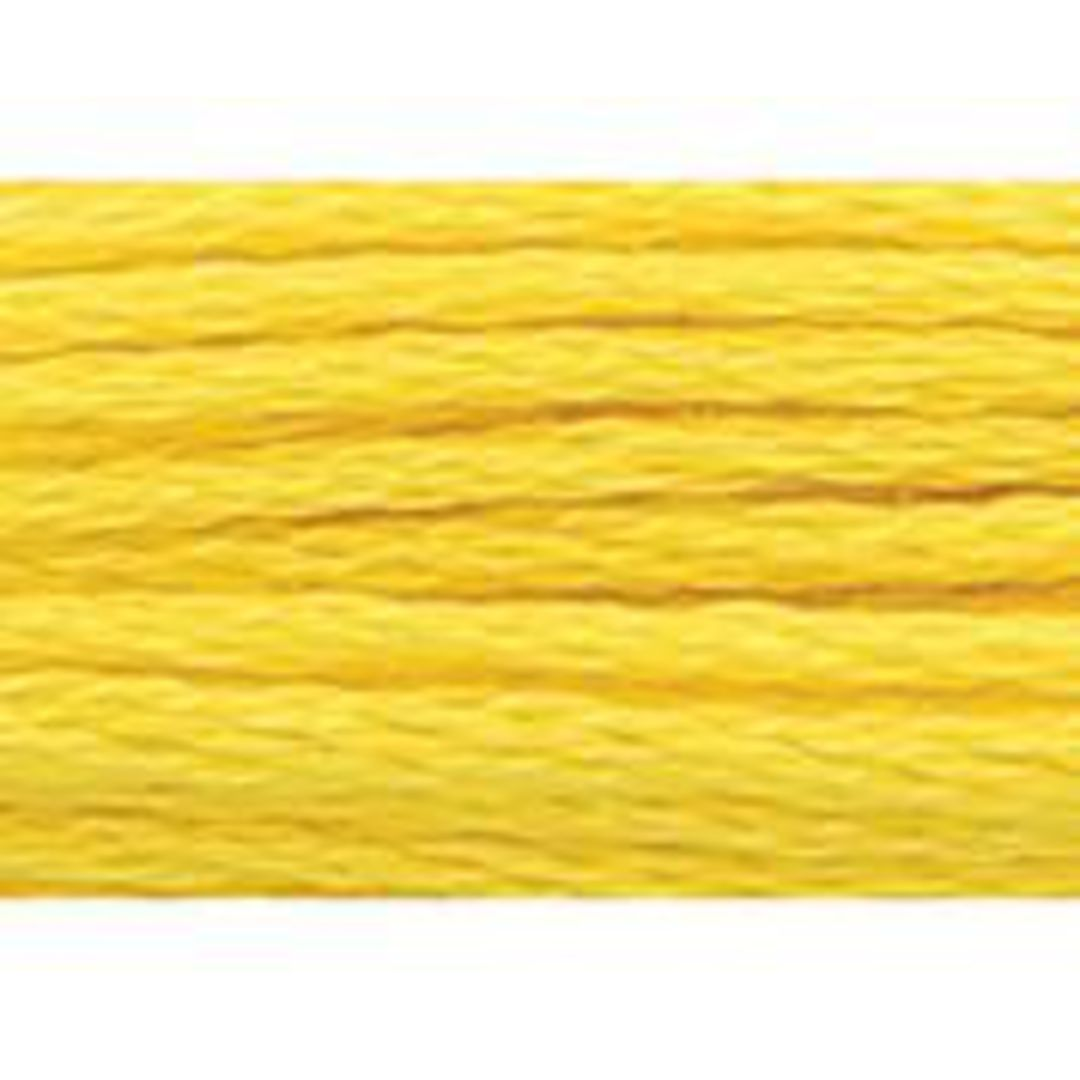 Stranded Cotton Cross Stitch Threads - Yellow Shades image 35