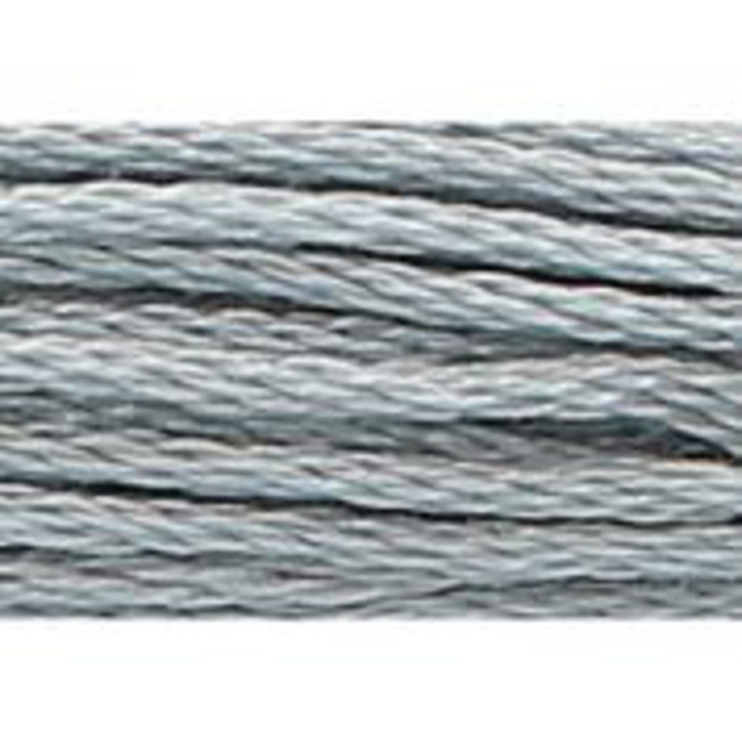 Stranded Cotton Cross Stitch Threads - Greys Shades image 4