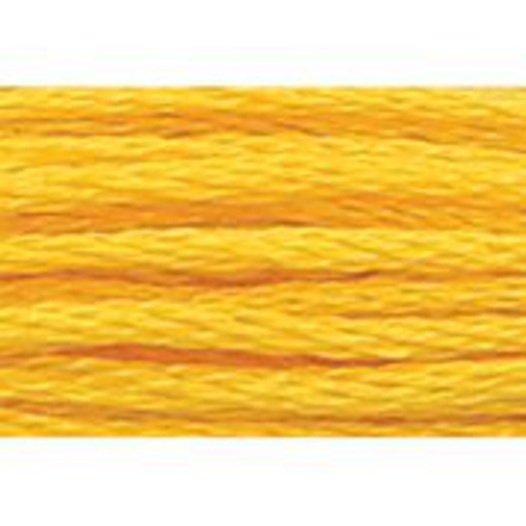 Stranded Cotton Cross Stitch Threads - Yellow Shades image 29