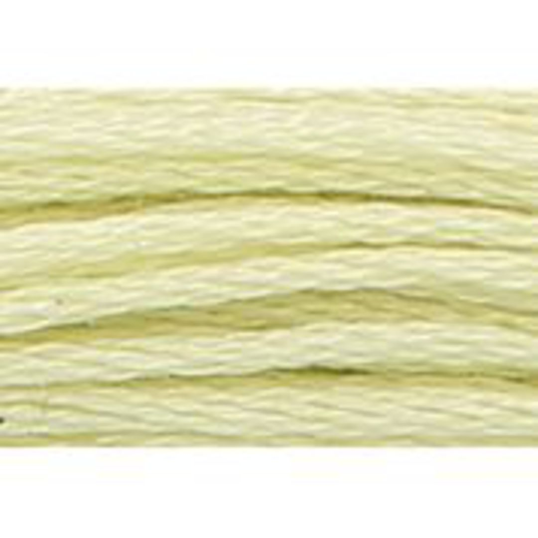Stranded Cotton Cross Stitch Threads - Yellow Shades image 42