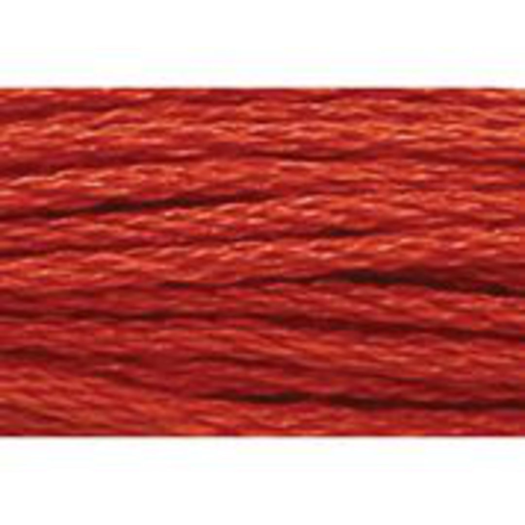 Stranded Cotton Cross Stitch Thread - Red Shades image 16