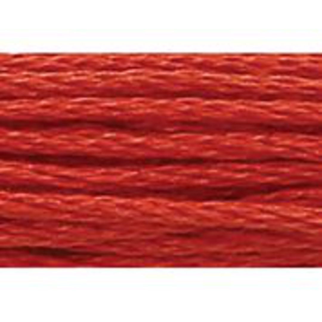 Stranded Cotton Cross Stitch Thread - Red Shades image 17