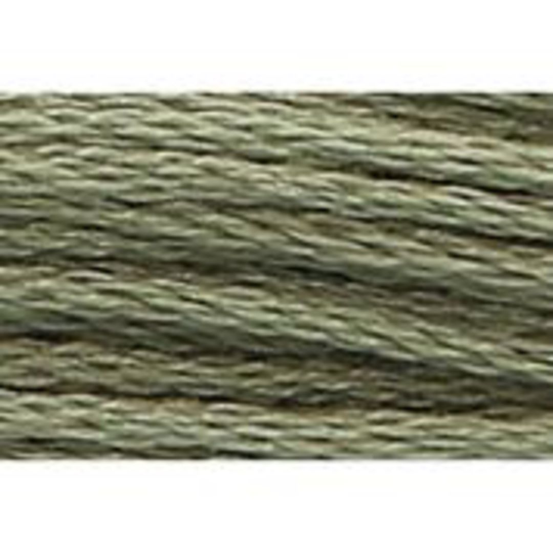 Stranded Cotton Cross Stitch Threads - Green Shades image 21