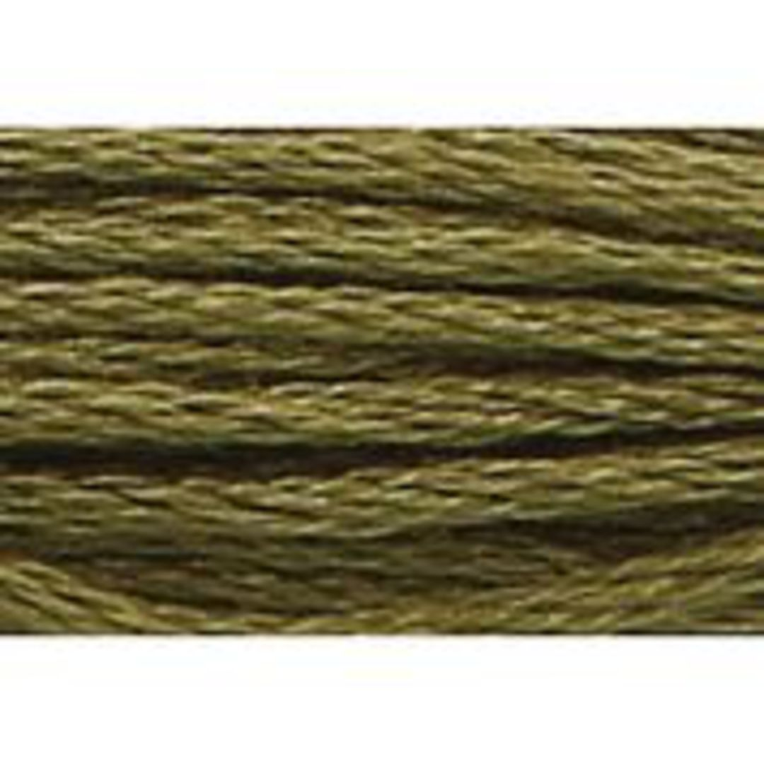 Stranded Cotton Cross Stitch Threads - Green Shades image 27