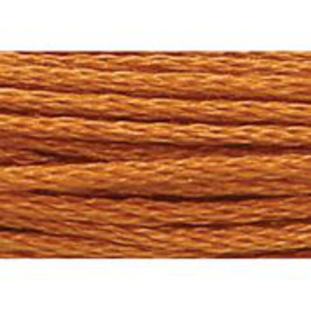 Stranded Cotton Cross Stitch Threads - Orange Shades image 32