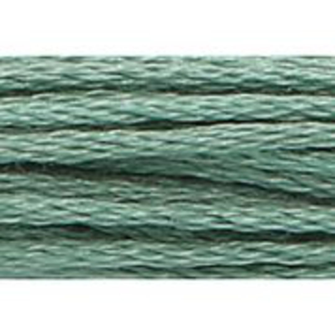 Stranded Cotton Cross Stitch Threads - Green Shades image 17