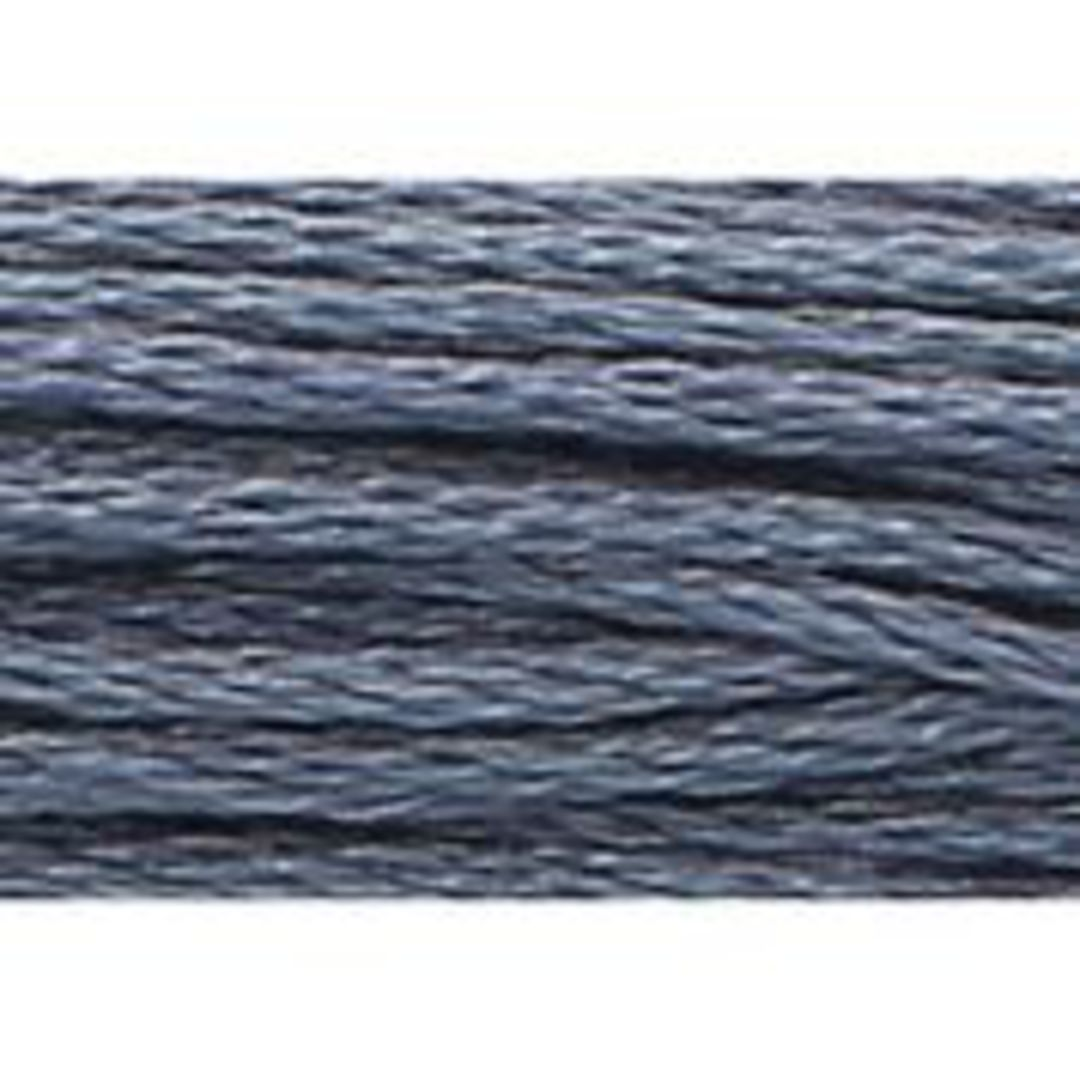 Stranded Cotton Cross Stitch Threads - Blue Shades image 30
