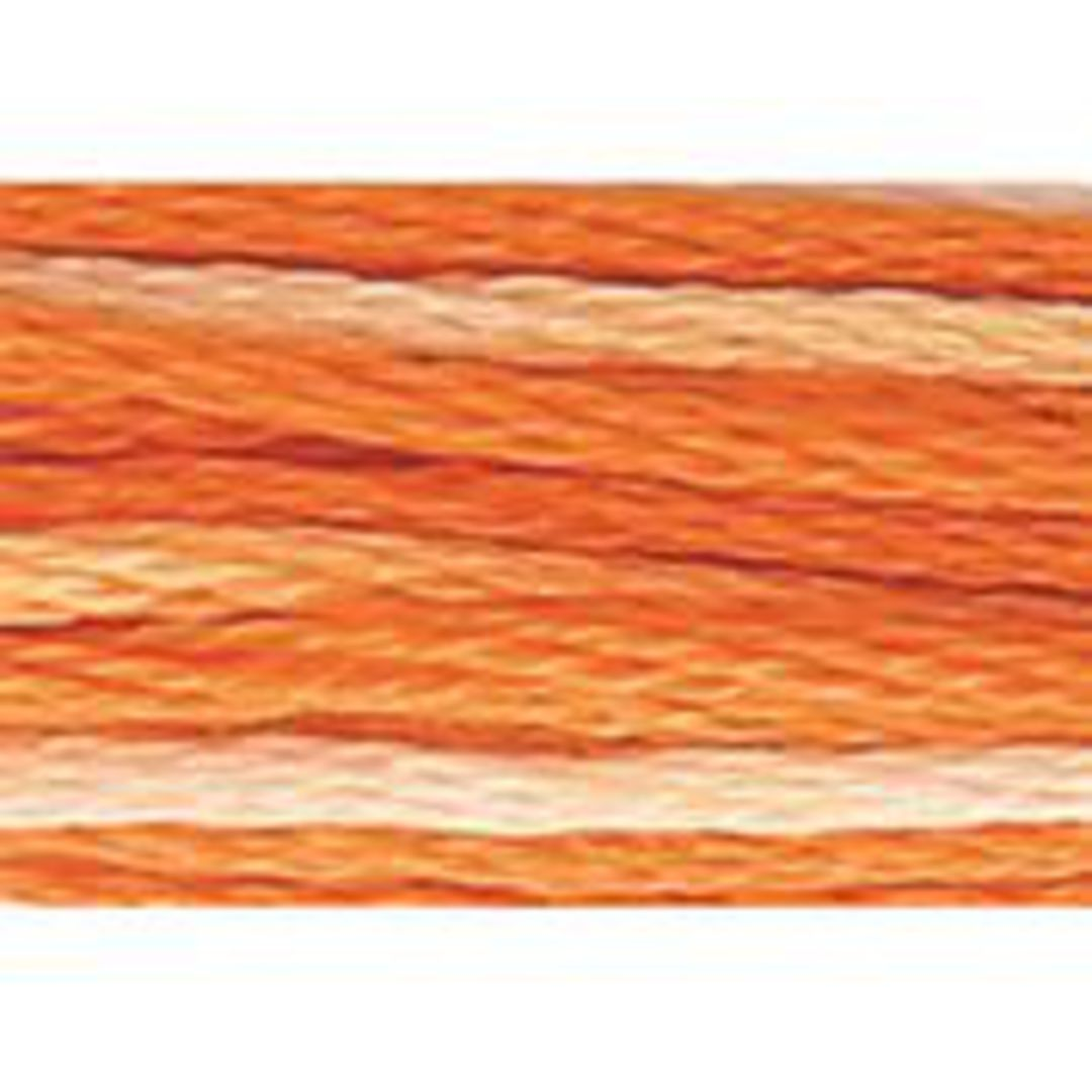 Stranded Cotton Cross Stitch Threads - Orange Shades image 4