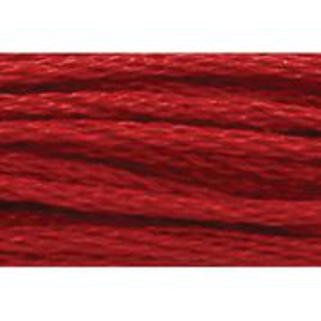 Stranded Cotton Cross Stitch Thread - Red Shades image 8
