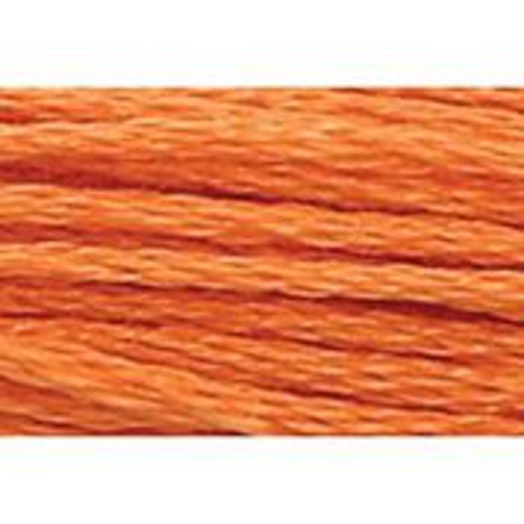 Stranded Cotton Cross Stitch Threads - Orange Shades image 17