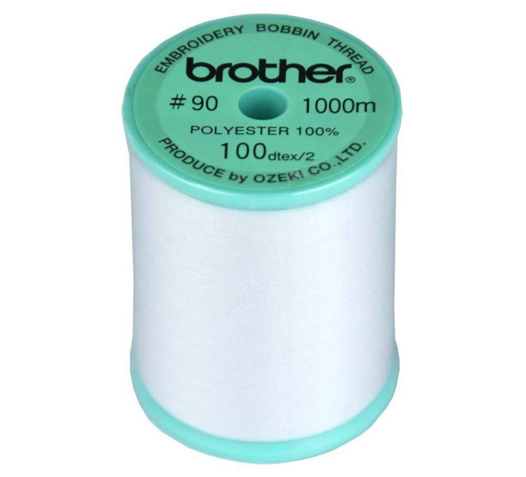 90# White Bobbin Thread image 0