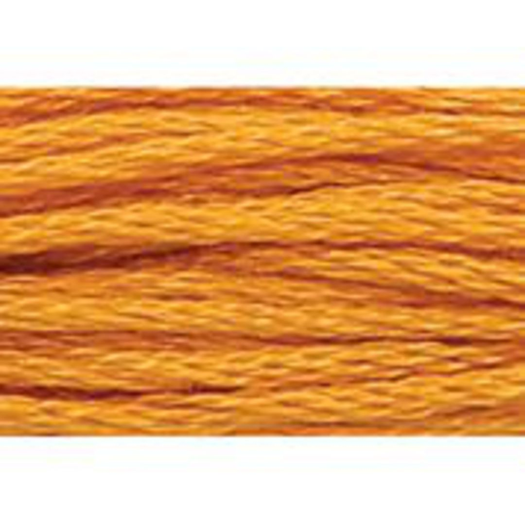 Stranded Cotton Cross Stitch Threads - Orange Shades image 54