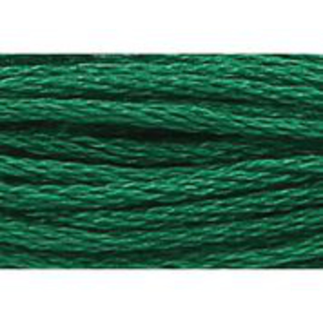 Stranded Cotton Cross Stitch Threads - Green Shades image 13