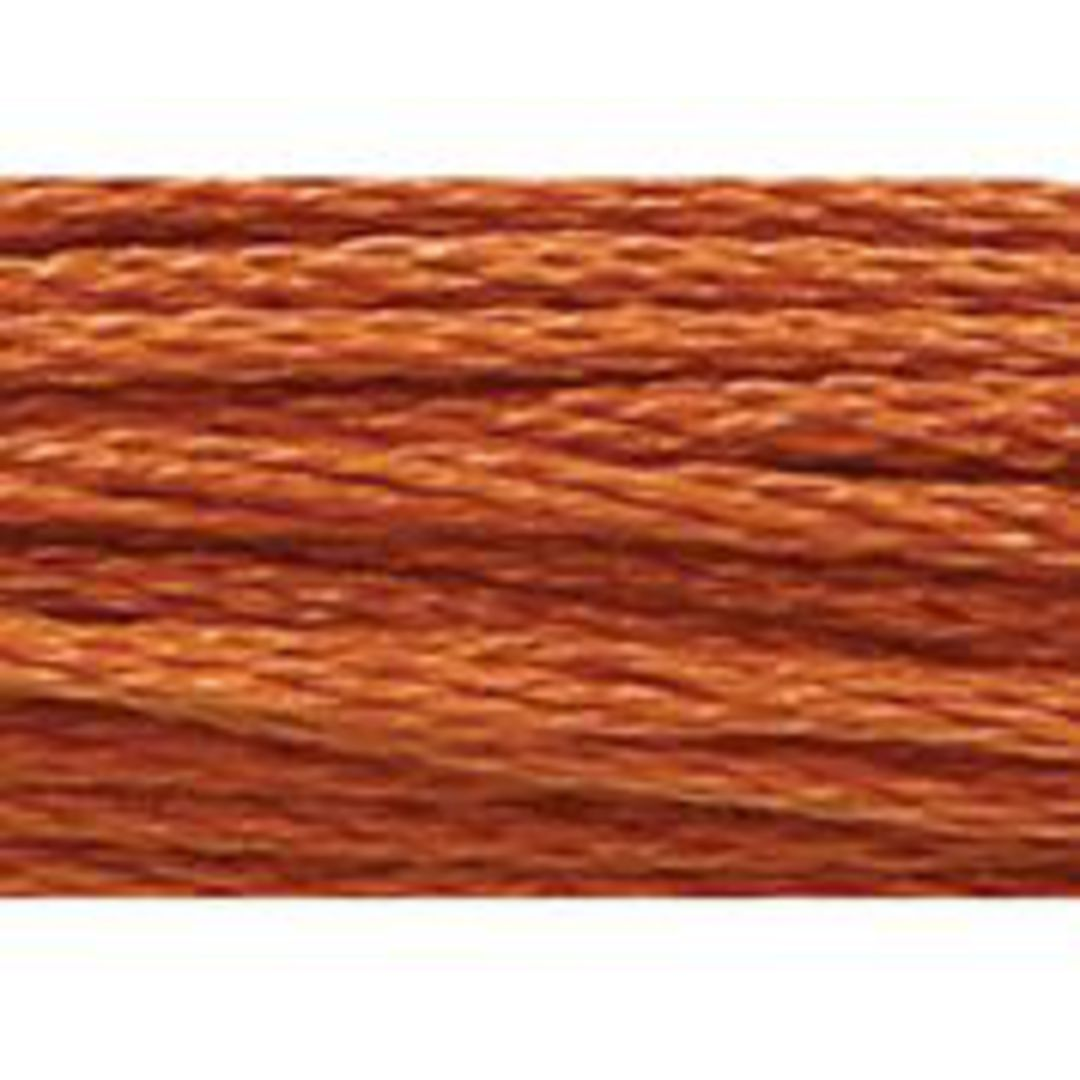 Stranded Cotton Cross Stitch Threads - Orange Shades image 36