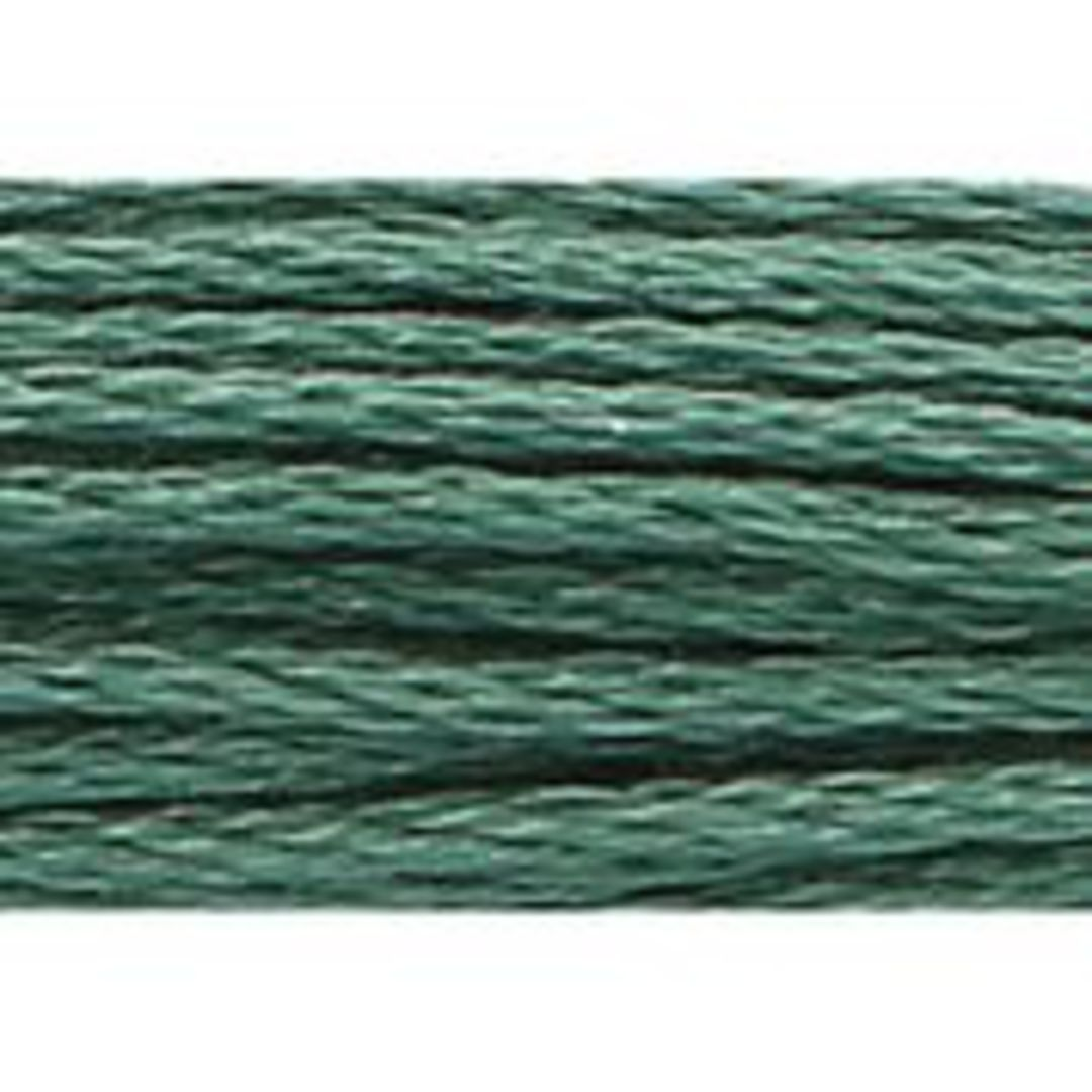 Stranded Cotton Cross Stitch Threads - Green Shades image 16