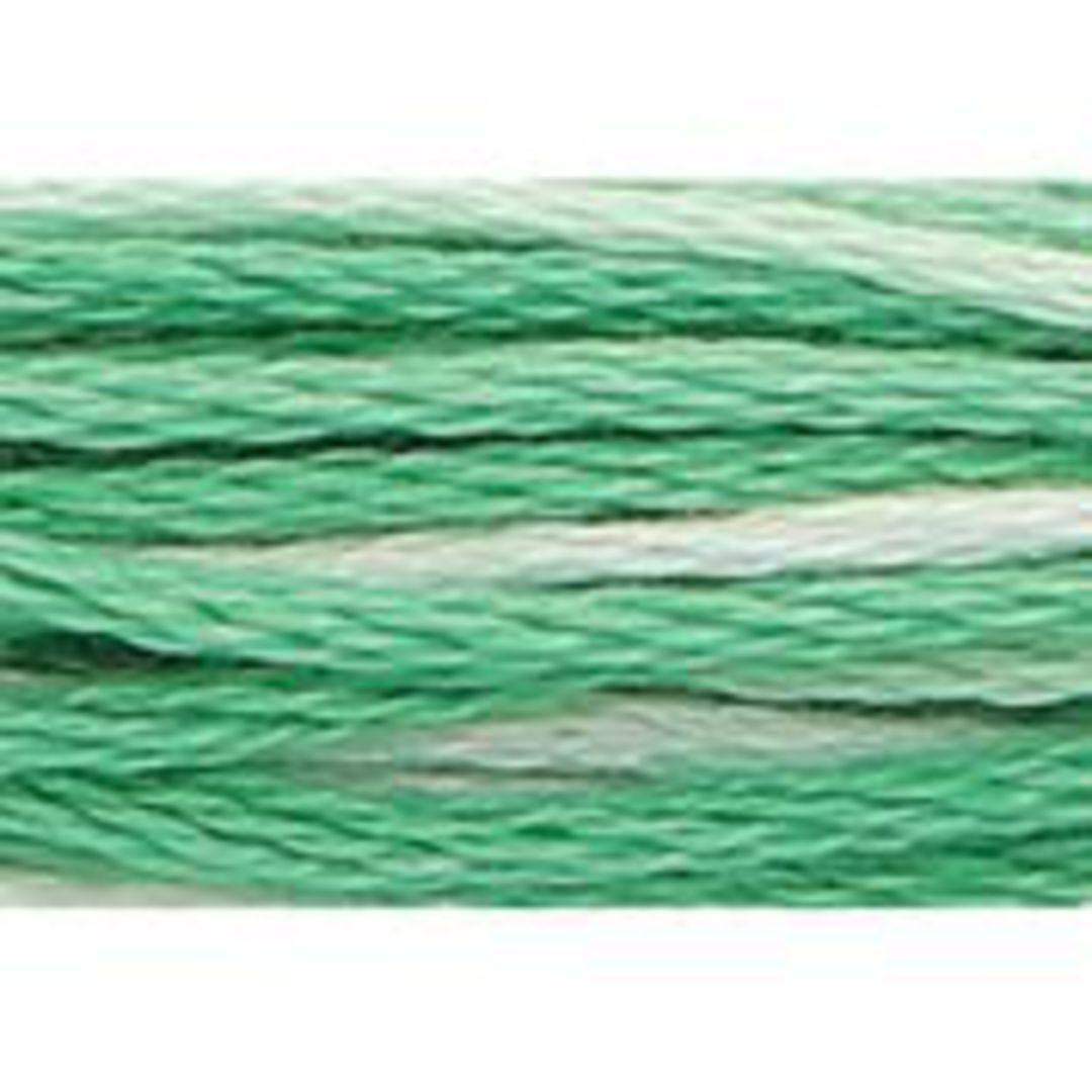Stranded Cotton Cross Stitch Threads - Green Shades image 4