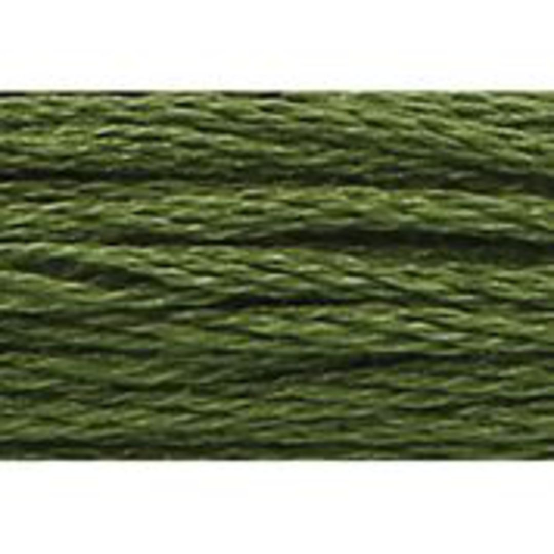Stranded Cotton Cross Stitch Threads - Green Shades image 36